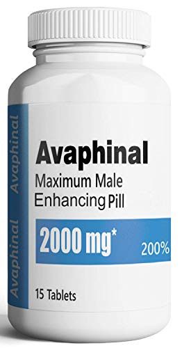 Avaphinal Premium Maximum Male Enhancement Pills - Pump Enhancing Alpha Male Booster for Men - Increase Size, Drive, Stamina & Endurance – 2000 mg