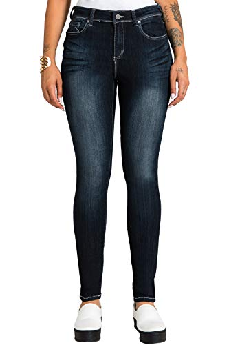 Poetic Justice Tall Women's Curvy Fit Vintage Stretch Denim Midrise Skinny Jeans Size 31TX35