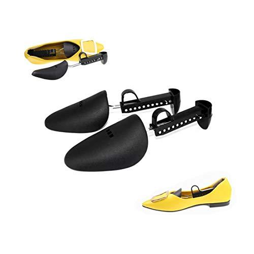 Atlants Set de 2 Hormas para zapatos Par Extensor de zapatos ajustable para Mujeres y Hombres Mantén tus zapatos Protegidos y Evitar su deformación