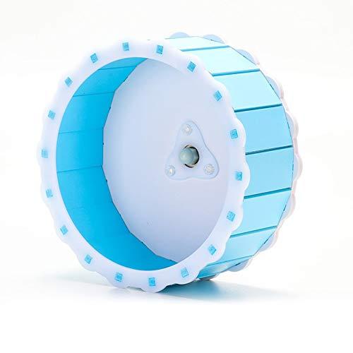 xueren Hámster - Rueda de ejercicio para mascotas, rueda giratoria silenciosa para correr, disco para correr, juguetes deportivos para mascotas