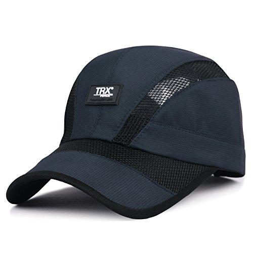 XBR Chapeau Summer Parasol Hat à l'extérieur de la Mode pour Hommes sur la pac Casquette de Base - Ball de Couleur Vert tibétain
