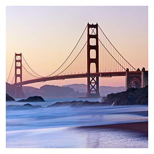 Tapete selbstklebend - San Francisco Romance - Fototapete Quadrat 336x336 cm
