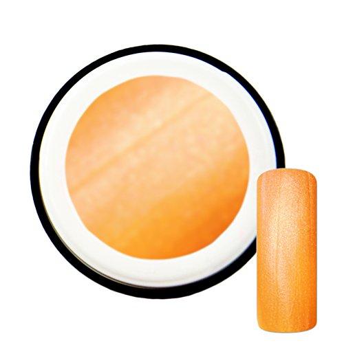 Orange Fluo avec effet de Pearl # 10 Gels UV Gel 5 ml – Fabriqué en Allemagne