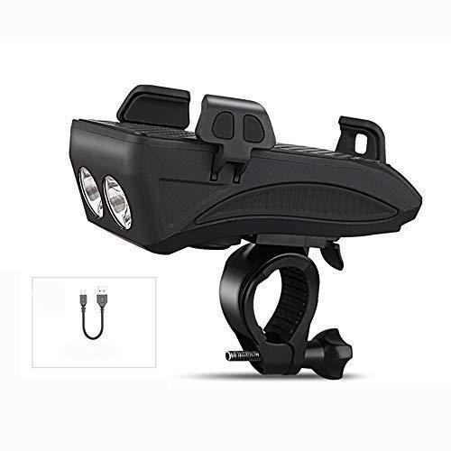 Recargable luz bici delantera Loud bicicletas Horn-