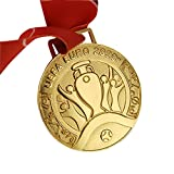 Medaglie: repliche delle 2021 medaglie olimpiche di Tokyo, souvenir dalle medaglie d'oro dei giochi olimpici giapponesi Materiale: materiale in lega di zinco, non facile da sbiadire, non ruggine, pesa circa 307 g. Dimensione della cinghia 8.5 × 3 cm ...