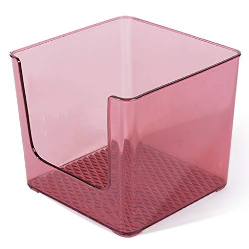 Cosmetico Desktop Dressing Table Lippenstift voor huidverzorging Transparant 16,5 x 14,5 cm