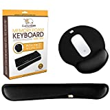 CushionCare Keyboard Wrist Rest Pad - Full Ergonomic Mouse Pad with Wrist...