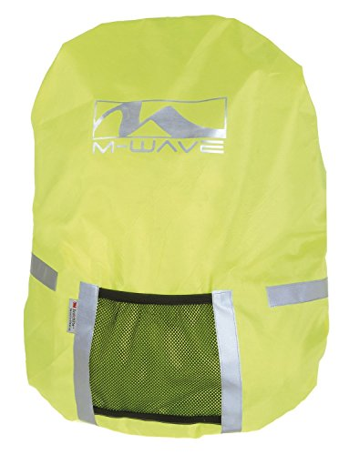 M-Wave Unisex– Erwachsene Maastricht Protect Taschenüberzug, Neongelb, 40 x 46 cm