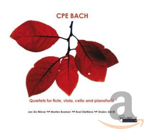 De Winne/Boeken/Dieltiens/Ad-El - Quartets For Flute, Viola, Cello An