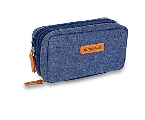 Bolsa estuche isotérmico para diabéticos | Diabetic´s | Elite Bags | Color: vaquero oscuro | Para plumas de insulina y glucómetros