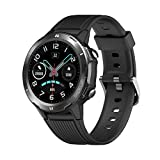 LATEC Smartwatch Orologio Fitness Tracker Impermeabile IP68 Smart Watch Touch Rotondo Cardiofrequenzimetro da Polso Contapassi Activity Tracker con Cronometro Notifiche Messaggi per Android iOS