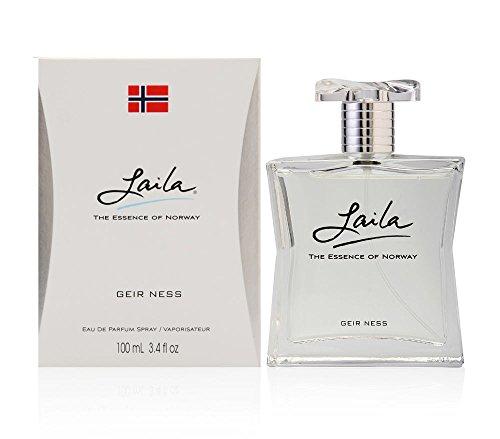 Laila ~ Geir Ness 3.4 oz Women Eau de Parfum Spray New in Box by Geir Ness