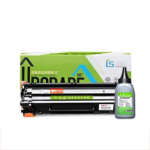 Adecuado para canon 6018 Cartucho de tóner CRG912 MF3010 925 LBP3018 Cartucho de tinta LBP6018L W Powder Cartridge 6000 Impresora HP CE285A P1102 M1132 Tambor de bro 3000/page