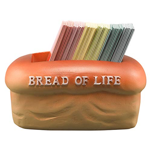 Bread of Life - 106 Colorful Double-Sided Mini Scripture Cards w/212 Assorted Bible Memory Verses, Inspirational Encouragement Cards for Women, Men, Kids, Sunday School, Family Devotions