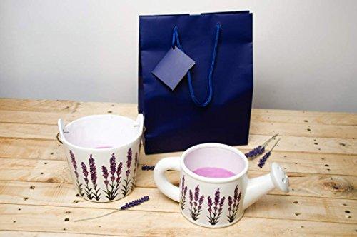 LAVANDOU - CERERIA GRAZIANI 'Set de bougies parfumées lavande Arrosoir Seau et