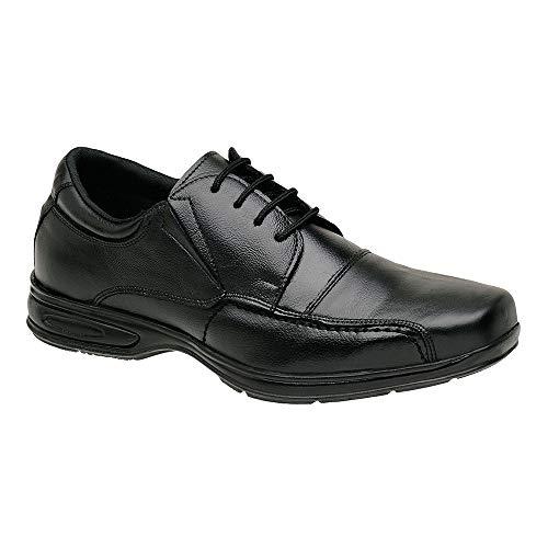 Sapato Social Masculino Couro Legitimo Conforto SanLorenzo 5070-CP Cor:Preto;Tamanho:39