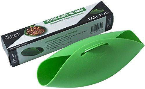 Microwave Vegetable Steamer | Omelet Maker | Fish Poacher | Oven Roaster | Cloche Bread Baker | BPA...