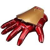 HYYSH Iron Man Guantes Casco Modelo de Mano portátil Juguete Cosplay...