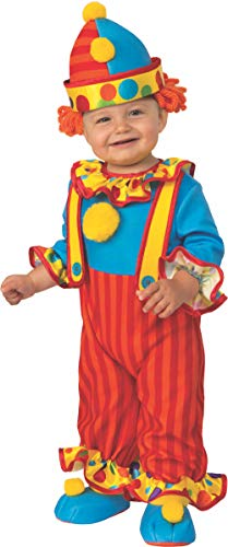 Rubie's Kid's Opus Collection Lil Cuties Little Clown Costume Baby Costume, As Shown, Infant