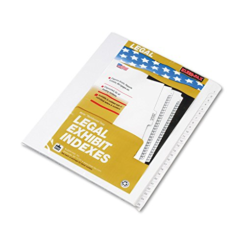 Kleer-Fax 90000 Series Side Tab Legal Index Divider Set