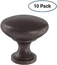 Brainerd P50154W-CO-SP Round 1.18-in Cocoa Bronze Round Modern Cabinet Knob (10-Pack)