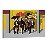 Beatlesビートルズロックバンド11 ウォールアート 部屋飾り キャンバス 絵画 ベッドルーム ポスター リビング 壁の絵20×30inch(50×75cm)