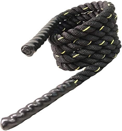 Victosoaring - Corda da salto pesante per cardio fitness, boxe, MMA fitness, allenamento e resistenza, 1in×110in