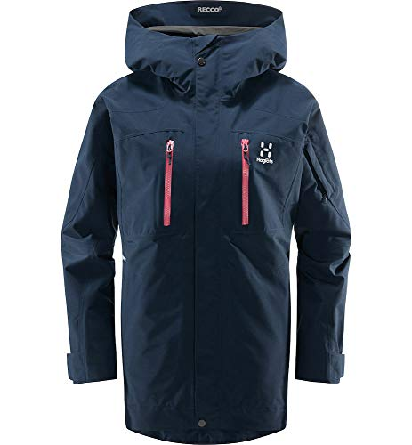 Haglöfs Skijacke Frauen Skijacke Elation GTX Jacket Wasserdicht, Winddicht, Atmungsaktiv Tarn Blue S S