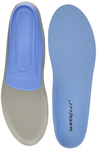 Superfeet Blue Full Length Insole, Blue, F: 12.5+ US Womens / 11.5-13 US Mens