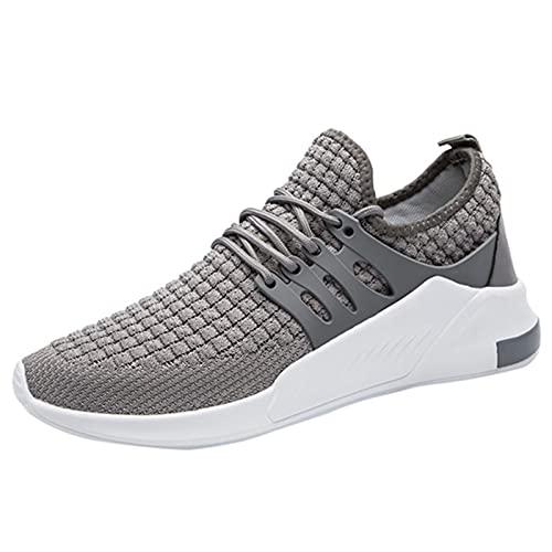 BAOFUBA Laufschuhe Herren Sneakers Running Schuhe Sportschuhe Straßenlaufschuhe Outdoor Walkingschuhe Slip On Flache Atmungsaktiv Leichte Sportschuhe
