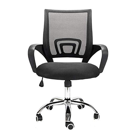 Bürodrehstuhl aus Kunststoff Handlauf Rücken atmungsaktiver Computerstuhl Bürostuhl MISU