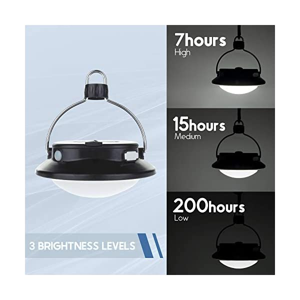 SUBOOS Gen 2 ULTIMATE Rechargeable LED lantern and 5200mAh Power Bank - 5 Brightness Modes - Great Light for Camping, Shed, Car & Power Outage