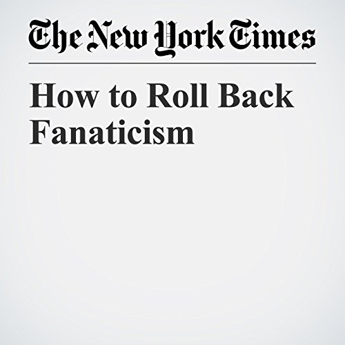 How to Roll Back Fanaticism copertina