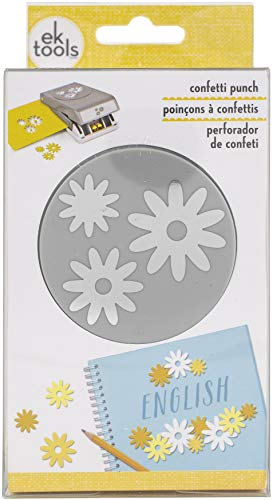 EK SUCCESS/AMERICAN CRAFTS Large Double Punch CONF, Daisy Confetti