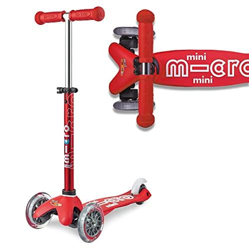 Mini Micro Deluxe monopattino rosso