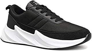 Boltt Shark Synthetic Mesh and Casual Men's Fashion Sports Shoes- Black