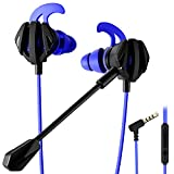 FIXSCAD Gaming Earbud Wired, Stereo in-Ear Headset with...