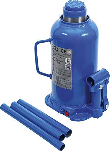 BGS 9888 | Hydraulischer Flaschen-Wagenheber | 20 t | Stempelwagenheber / Kompakt-Wagenheber