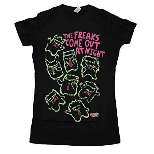 David & Goliath Stupid Factory / Monster Mash Freaks come out Girlshirt black - L