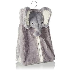 Levtex Home Baby Diaper Stacker, Grey Elephant