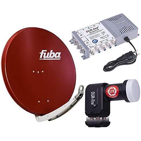 Digital Sat Anlage 8 Teilnehmer Fuba Daa 850 R Elektronik
