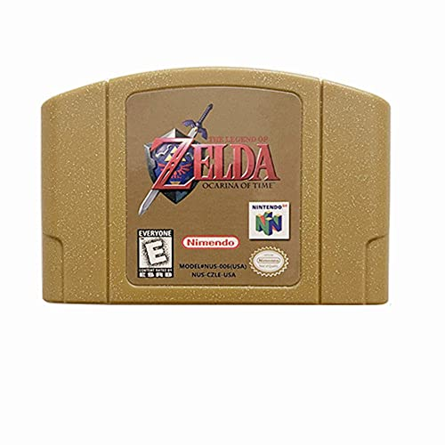 The Legend of Zelda Ocarina of Time Video Game Cartridge US Version For Nintendo 64 N64 Game Console