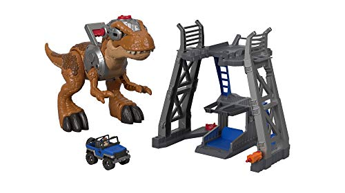 Jurrasic World T-Rex is a fun toy for 3-year-old boys who love dinosaurs