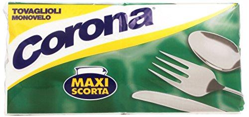 Corona Tovaglioli Monovelo Maxi Scorta - 1 Pacco