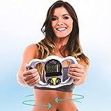 ZUEN Maniglia BMI Health Analizzatore di Grasso corporeo Digitale Misuratore di Massa Digitale Portatile Peso Digitale Misuratore di Strumenti di misurazione Calculato Argento