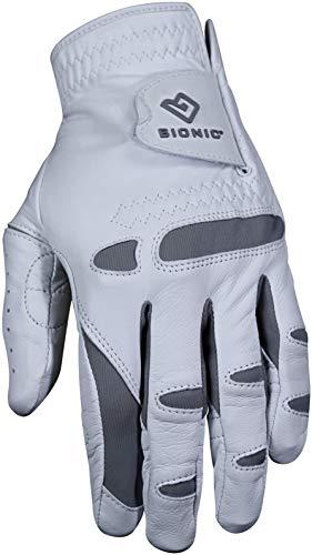 BIONIC Herren Performance Pro Golf Handschuh (Linke Hand, Cabretta-Leder), Herren, Performance Pro, weiß