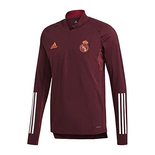 Real Madrid Temporada 2020/21 Chaqueta Entrenamiento UCL Oficial, Unisex, Granate, M