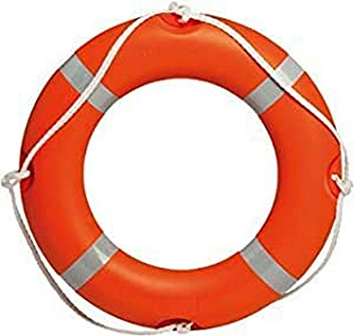 ARTPESCA Salvagente anulare Modello altura veleria San Giorgio Made in Italy omologato normativa Med Nautica