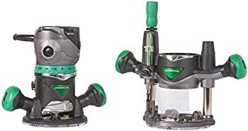 Metabo HPT 2-1/4 HP Variable Speed Plunge and Fixed Base Router Kit