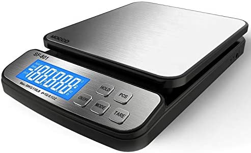 110 LB 50KG Digital Postal Scale MOCCO Heavy Duty Stainless Steel Multifunctional Shipping Scale product image